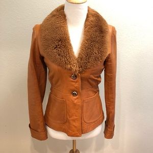 Vintage Wilson House of Suede Leather Jacket - S